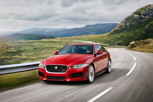 The Jaguar XE Voted Best Exec Car in the UK 2016